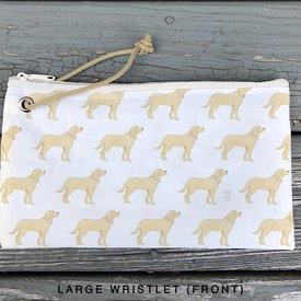 Sea Bags Sea Bags Sara Fitz - Golden Pup - Wristlet