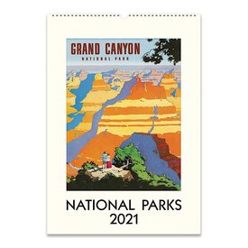 Cavallini Papers & Co., Inc. Cavallini Wall Calendar - National Parks 2021