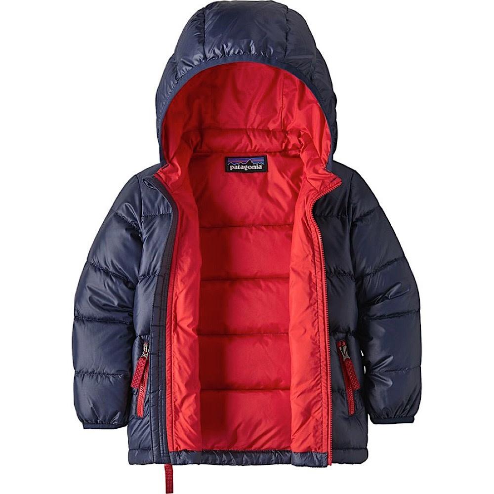 Patagonia Baby Hi-Loft Down Sweater Hoody - New Navy