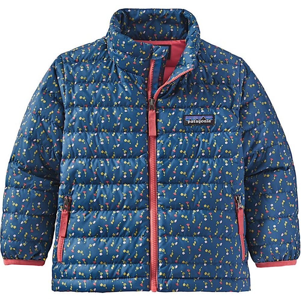 Patagonia Baby Down Sweater - Slow Dance Crater Blue