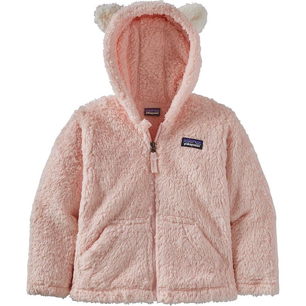Patagonia Baby Furry Friends Hoody - Seafan Pink