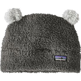 Patagonia Patagonia Baby Furry Friends Hat - Forge Grey w/Drifter Grey