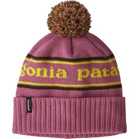 Patagonia Patagonia Kid's Powder Town Beanie - Park Stripe Artifact Pink