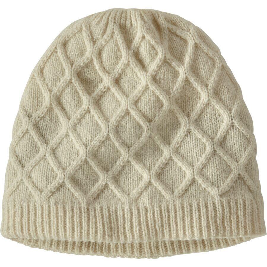 Patagonia Womens Honeycomb Knit Beanie - Birch White