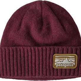 Patagonia Patagonia Brodeo Beanie - Fitz Roy Rambler: Chicory Red