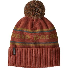 Patagonia Patagonia Powder Town Beanie - Park Stripe Spanish Red