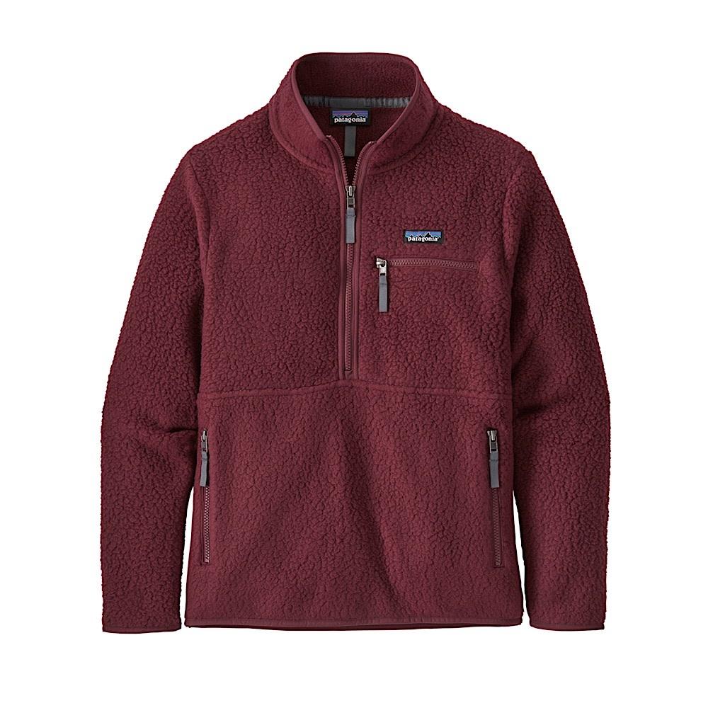 Patagonia Womens Retro Pile Marsupial Jacket - Chicory Red