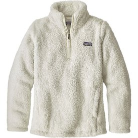 Patagonia Patagonia Girls Los Gatos 1/4 Zip - Birch White