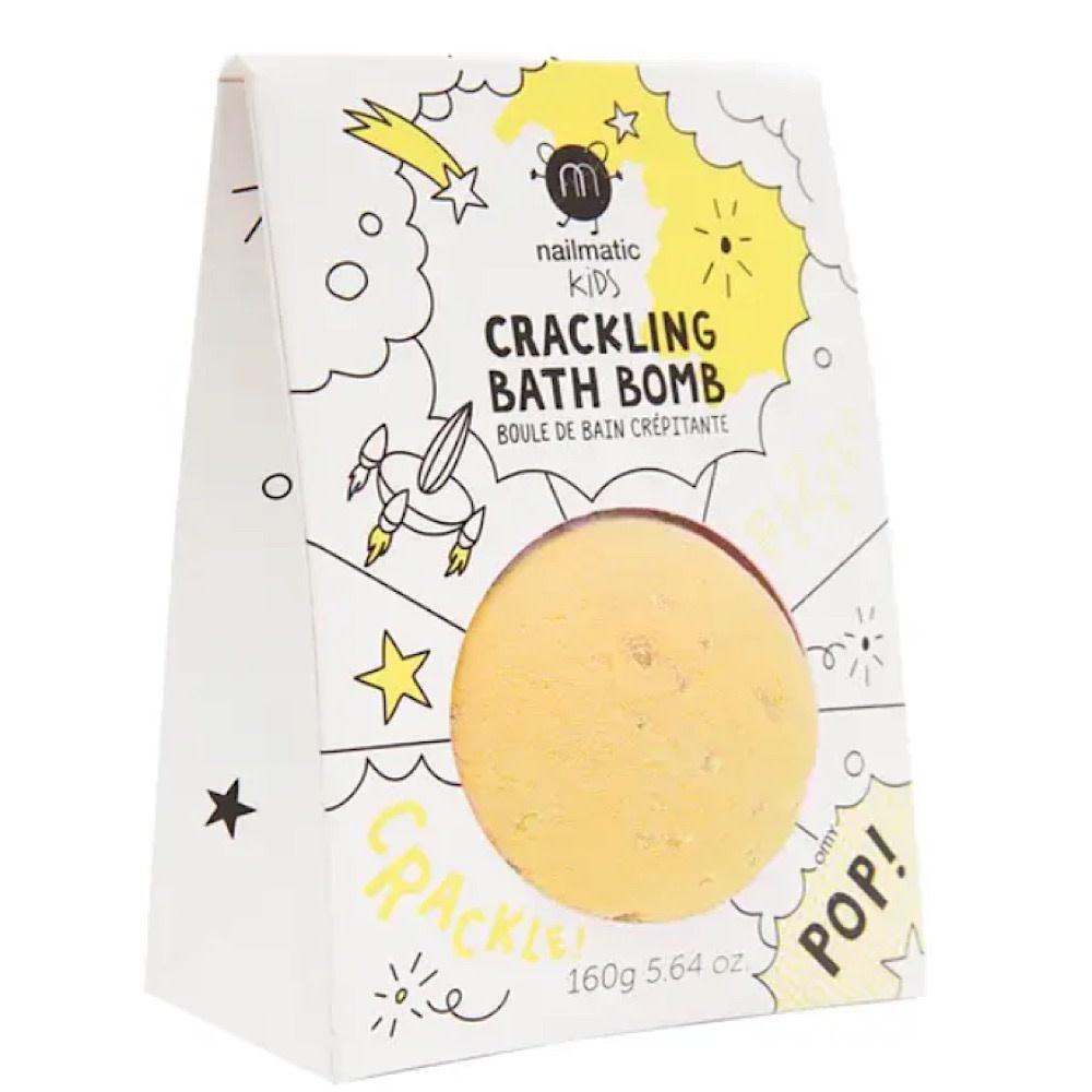 Nailmatic Crackling Bath Bomb - Yellow