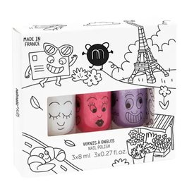 Nailmatic Nailmatic Nail Polish 3 Pack - City