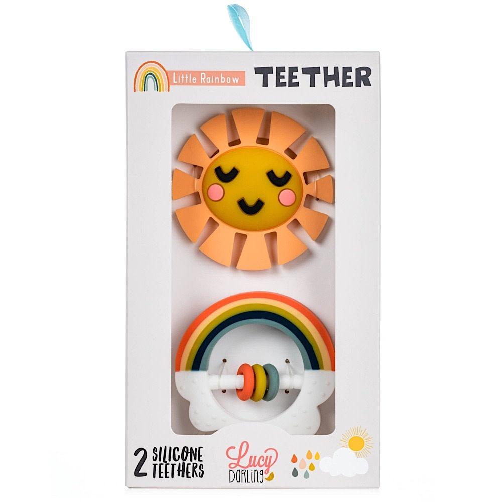 Lucy Darling - Teether - Rainbow