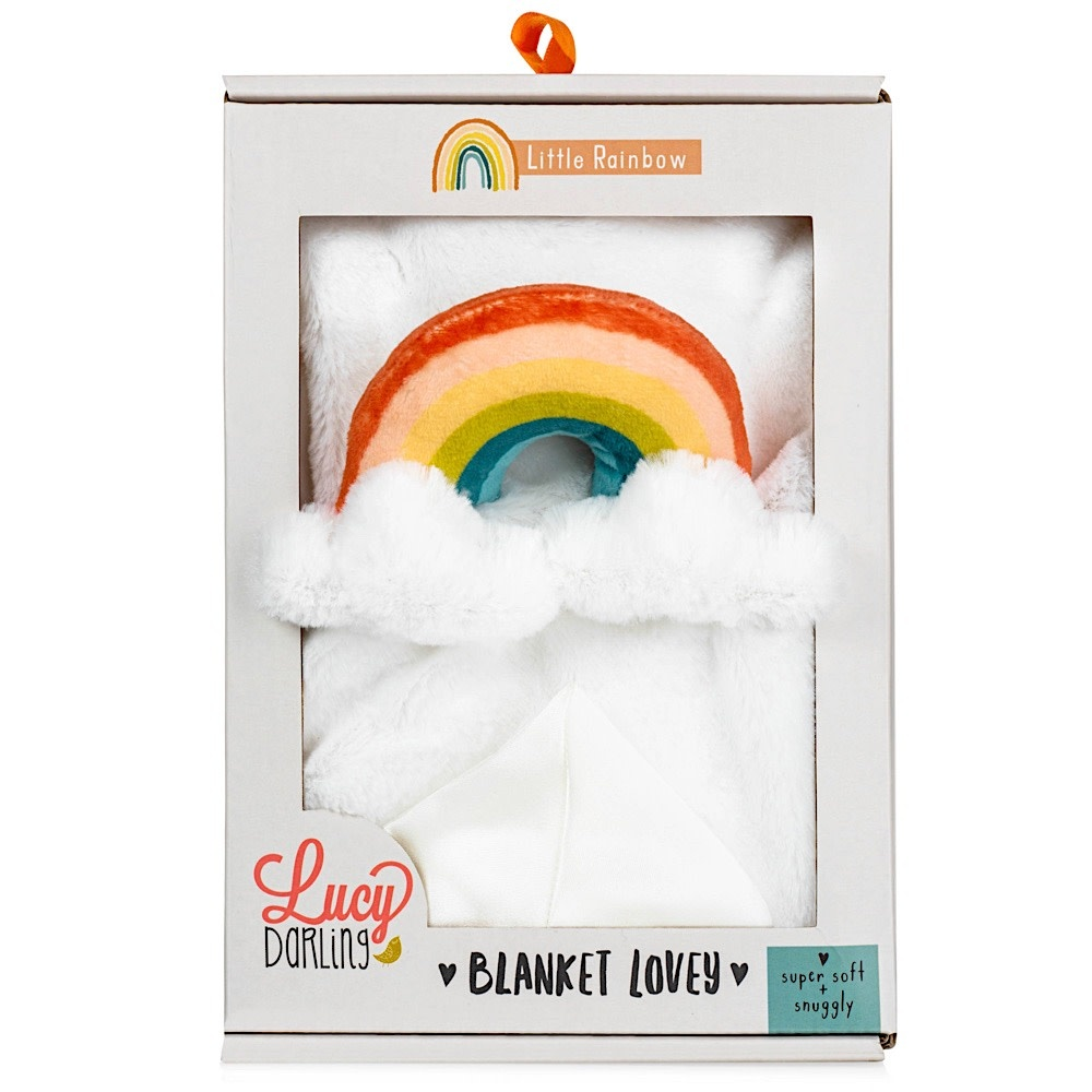 Lucy Darling - Lovey Blanket - Rainbow
