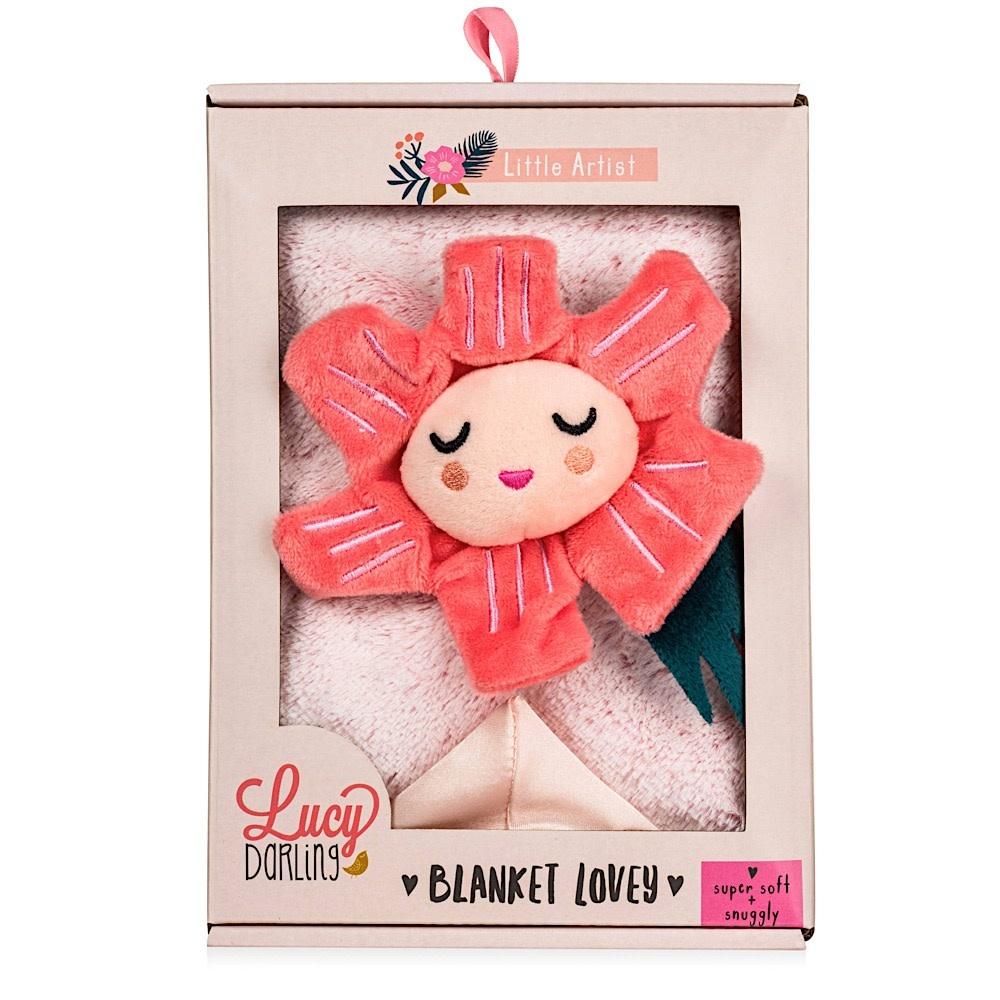 Lucy Darling - Lovey Blanket - Little Artist
