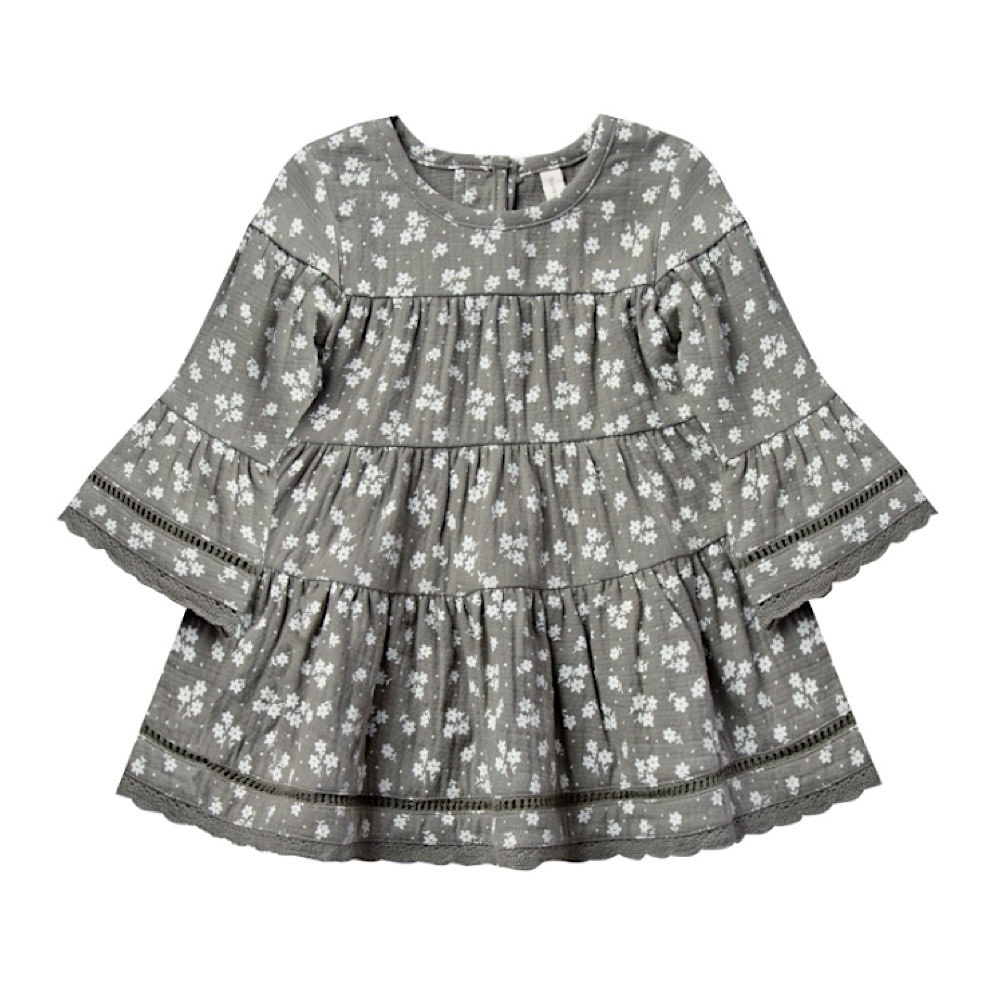 Quincy Mae Belle Dress - Eucalyptus