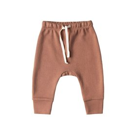Quincy Mae Quincy Mae Drawstring Pant - Clay