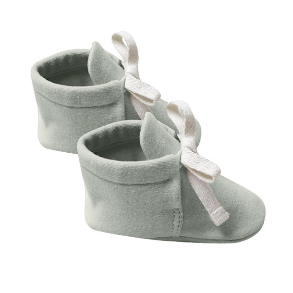 Quincy Mae Quincy Mae Baby Booties - Sage