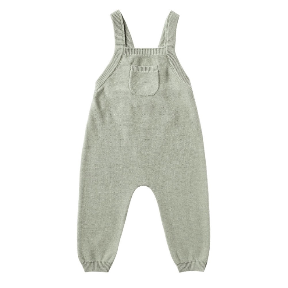 Quincy Mae Knit Overall - Sage