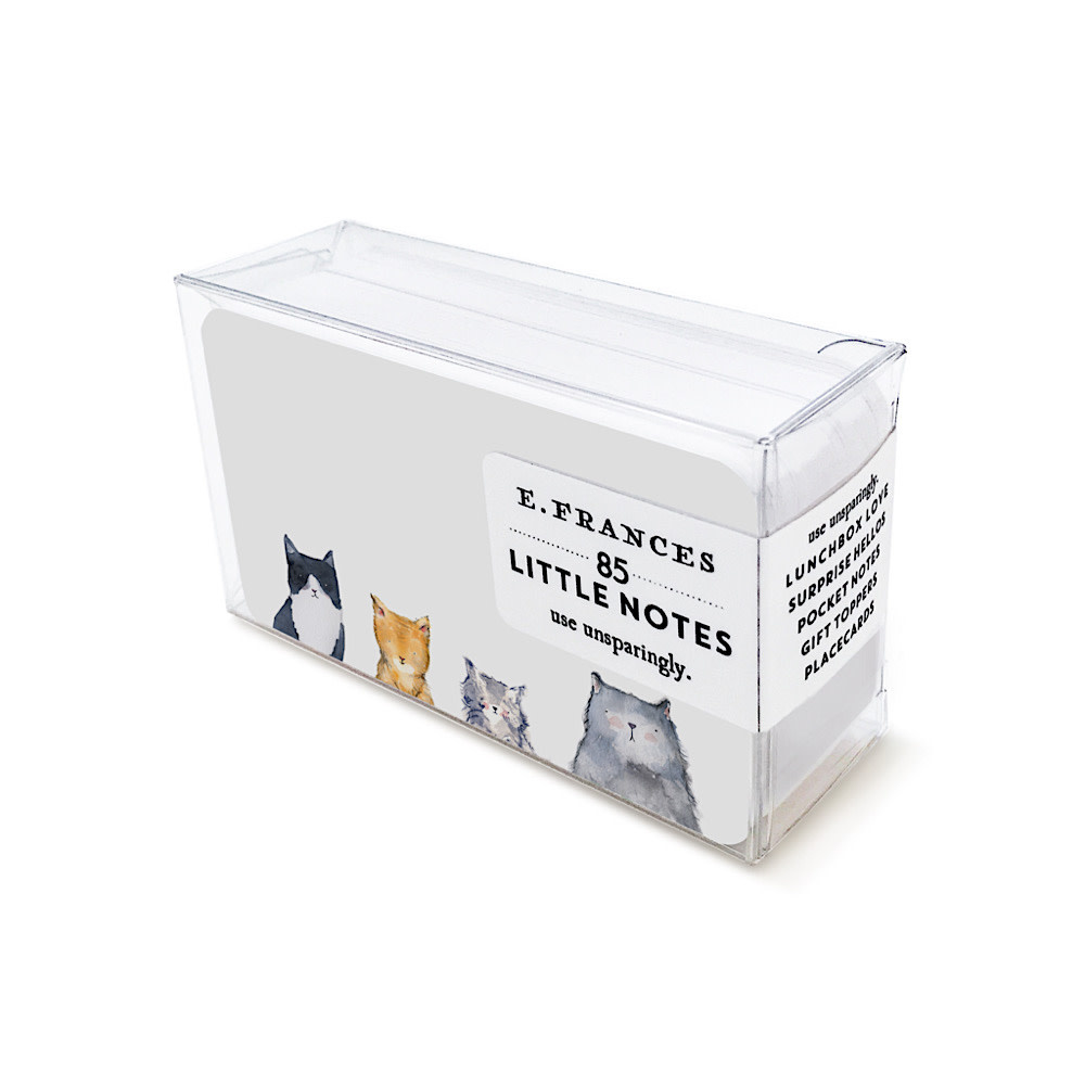 E Frances Paper E Frances Cat's Meow Little Notes