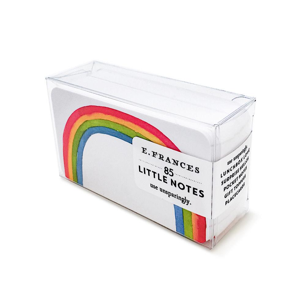 E Frances Rainbow Little Notes