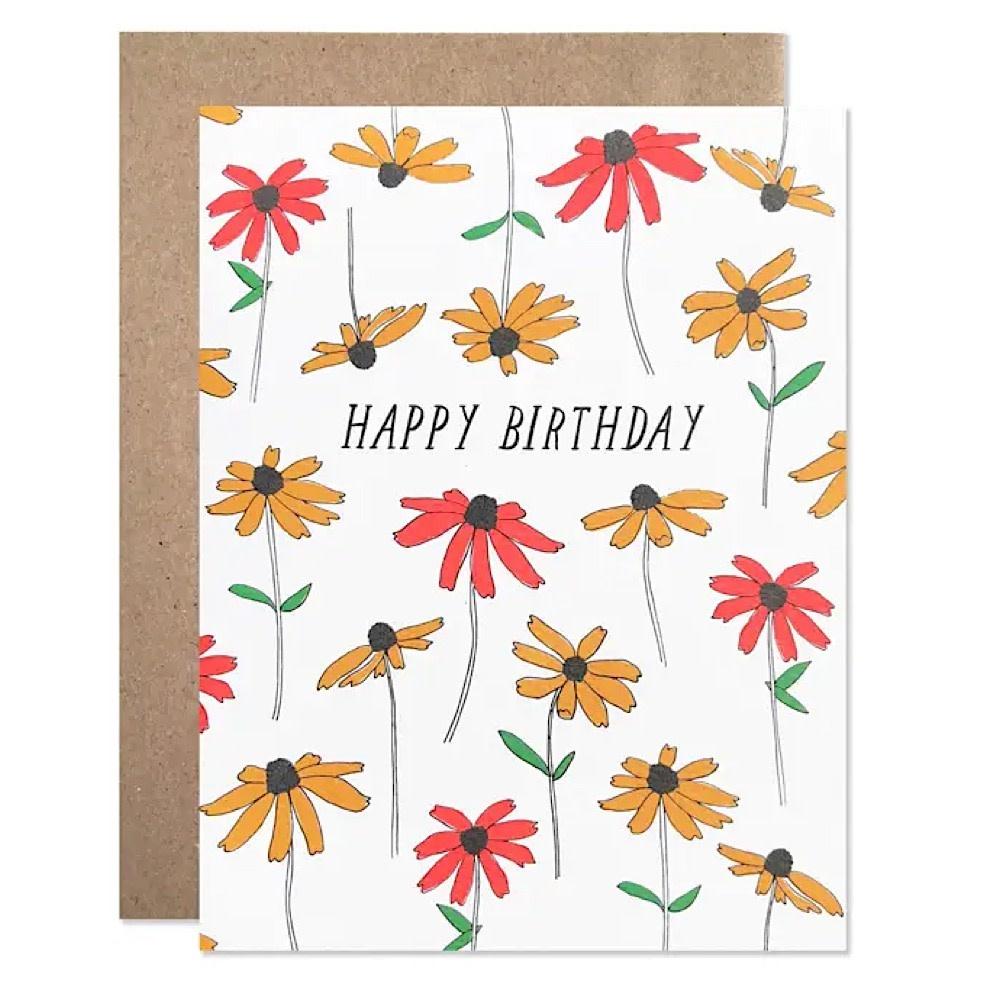 Hartland Brooklyn Hartland Brooklyn Card - Happy Birthday Black Eyed Susan