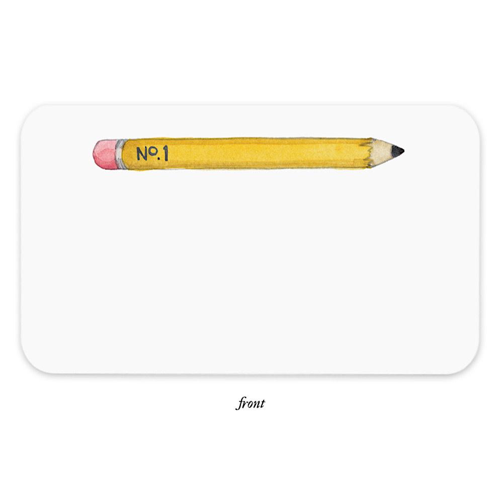 E Frances Pencil Little Notes