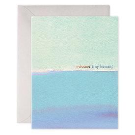 E Frances Paper E Frances Tiny Human Card