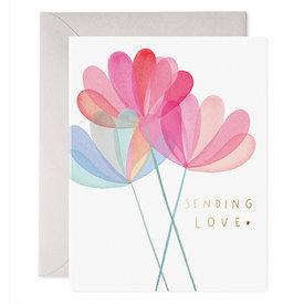 E Frances Paper E Frances Sending Love Card