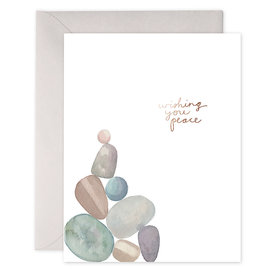 E Frances Paper E Frances Peace Rocks Card