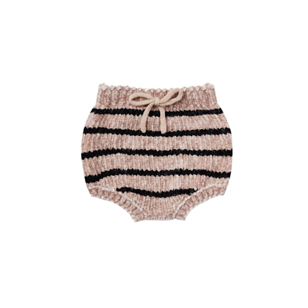 Rylee + Cru Striped Chenille Bloomer - Oat