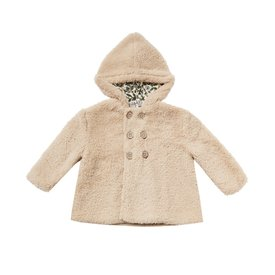 Rylee + Cru Rylee + Cru Double Breasted Coat - Oat