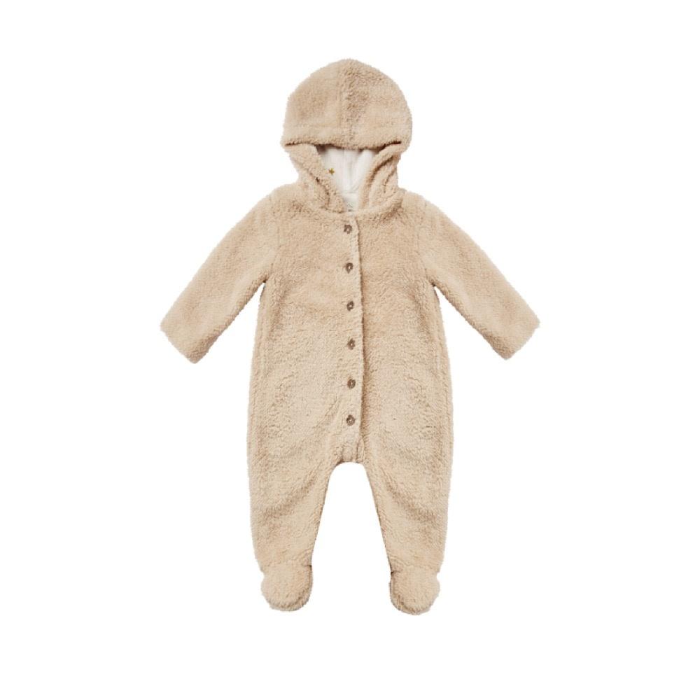 Rylee + Cru Bear Suit - Oat