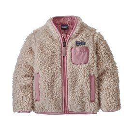 Patagonia Patagonia Baby Retro-X Jacket - Natural w/Artifact Pink