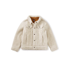 Tea Collection Tea Collection Sherpa Trucker Jacket - Birch