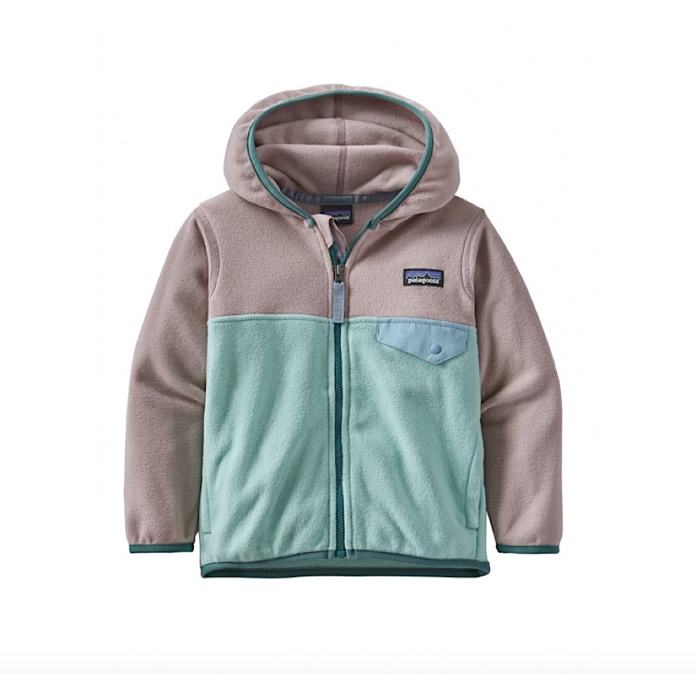 Patagonia Baby Micro D Snap-T Jacket - Gypsum Green