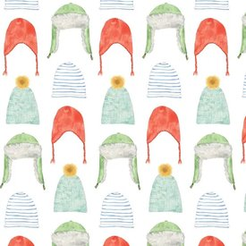 Sara Fitz Sara Fitz Wrapping Paper - Holiday Hats