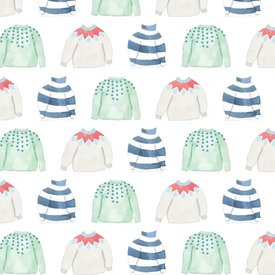 Sara Fitz Sara Fitz Wrapping Paper - Cozy Sweater