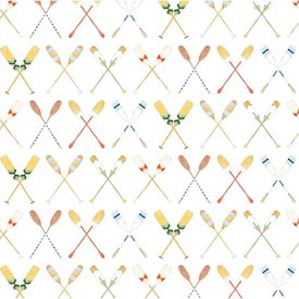 Sara Fitz Sara Fitz Wrapping Paper - Oars