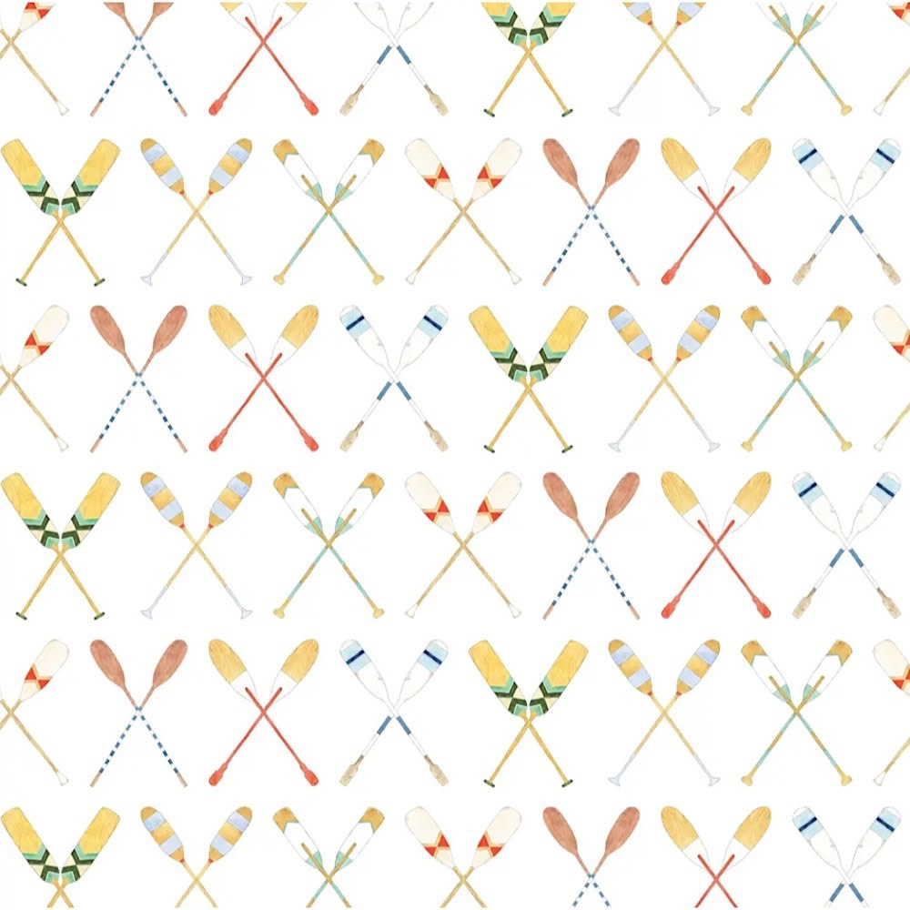 Sara Fitz Wrapping Paper - Oars