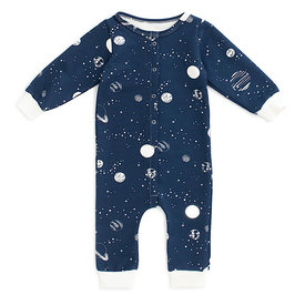 Winter Water Factory Winter Water Factory French Terry Jumpsuit - Planets Night Sky