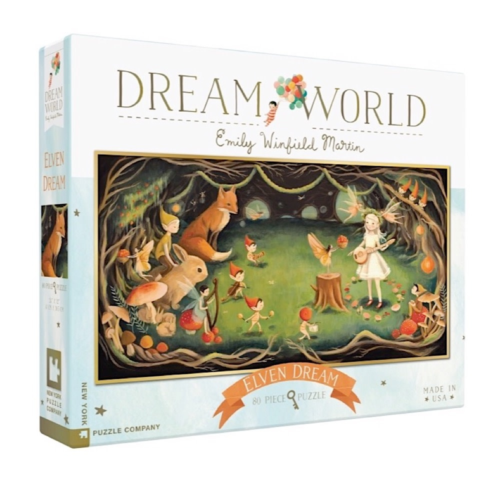 New York Puzzle Co. New York Puzzle Co - Elven Dream - 80 Piece Jigsaw Puzzle