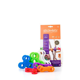 STICK-LETS STICK-LETS Dodeka Fort Set - 12 Pieces