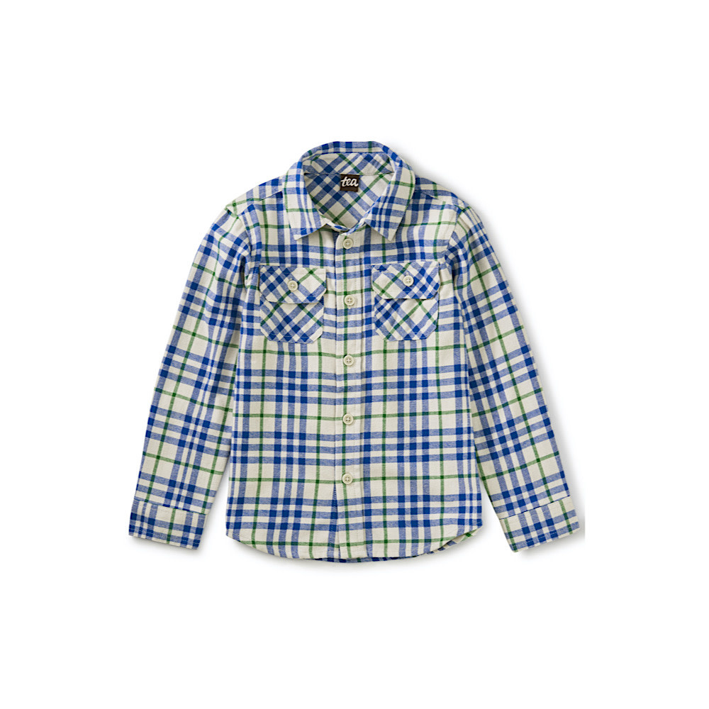 Tea Collection Tea Collection Flannel Button Up - Alpamayo