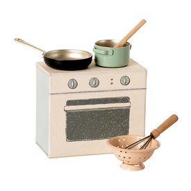 Maileg Maileg Cooking Set - Pale Pink