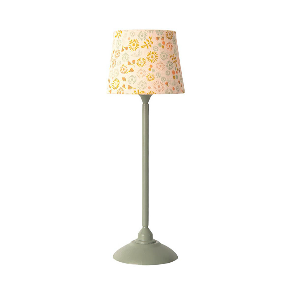 Maileg Maileg Miniature Floor Lamp - Mint