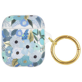 Rifle Paper Co. Rifle Paper Co. AirPod Case - Clear Garden Party Blue