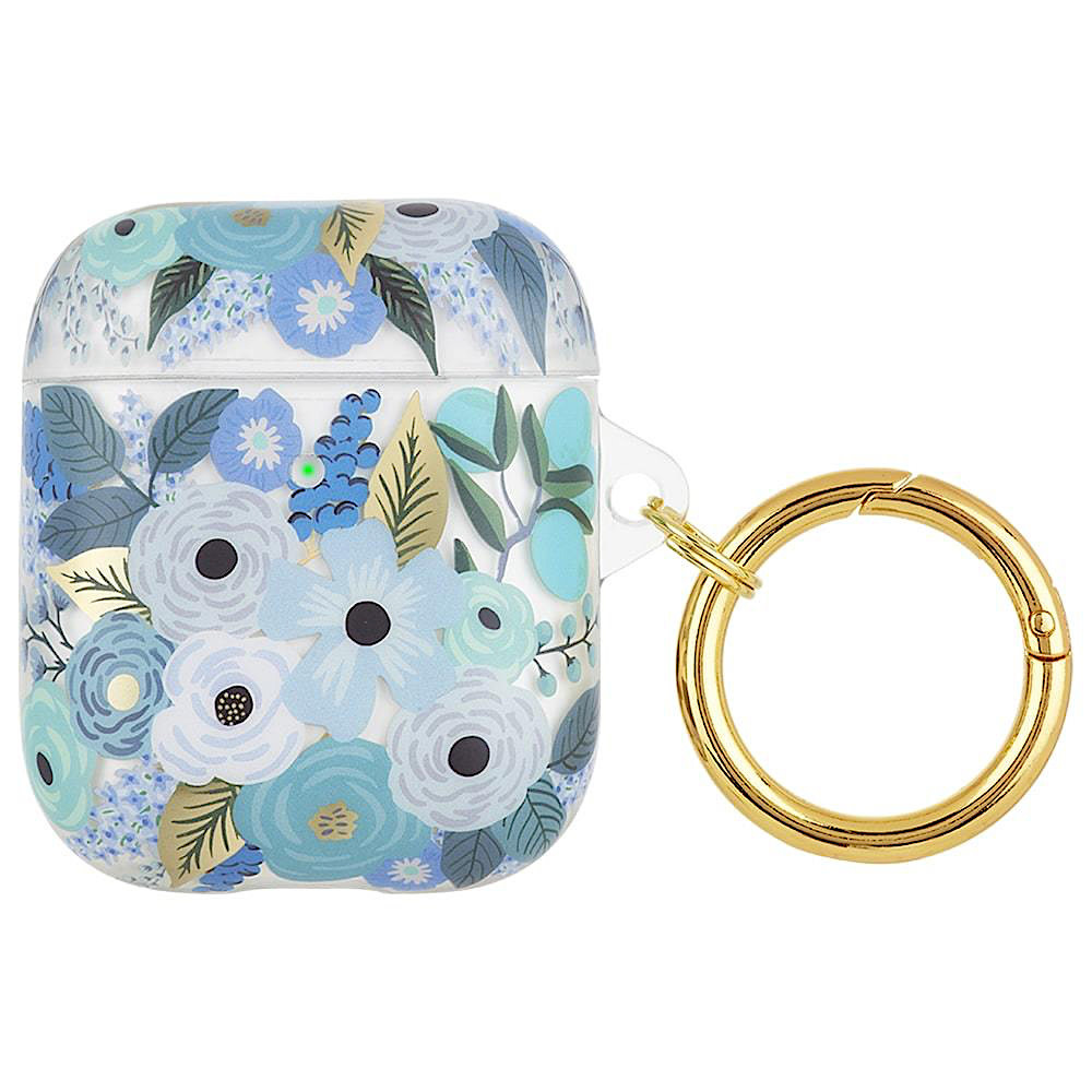 Rifle Paper Co. AirPod Case - Clear Garden Party Blue