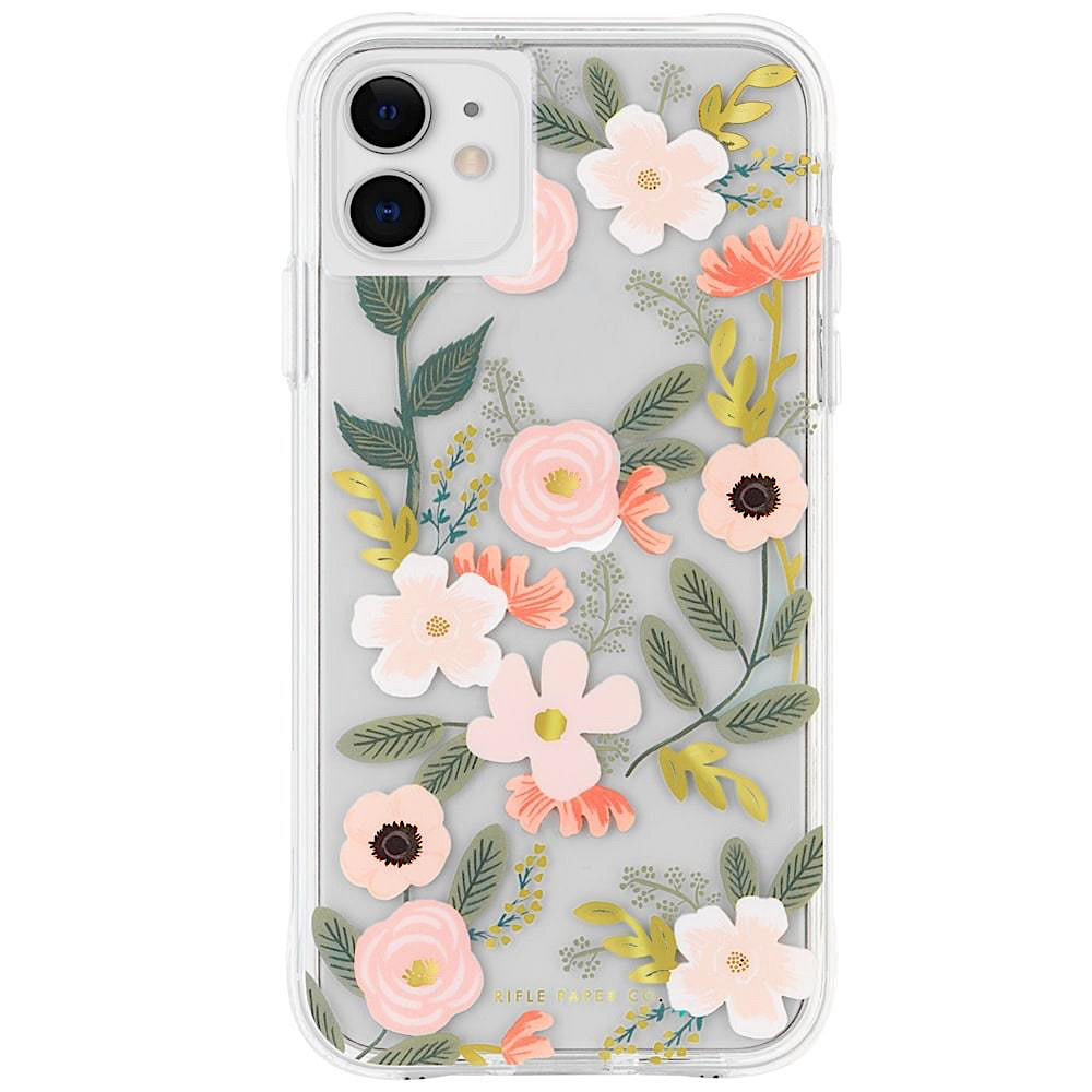 Rifle Paper Co. iPhone 11 Case - Clear Wildflowers