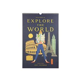 Rifle Paper Co. Rifle Paper Co. 2021 Calendar - Explore The World