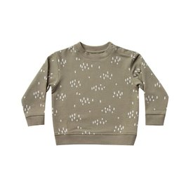Quincy Mae Quincy Mae Fleece Basic Sweatshirt - Olive