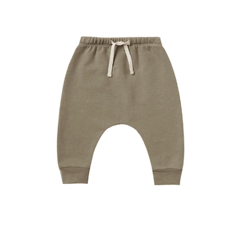 Quincy Mae Fleece Basic Sweatpant - Olive